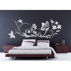 Schlafzimmer - Wandtattoo Deco
